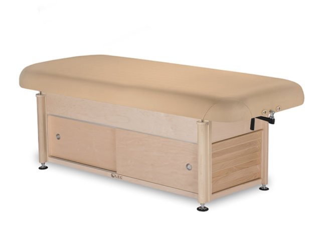Living-Earth-Crafts-Napa-Flat-Top-Spa-Treatment-Table-Cabinet-Base