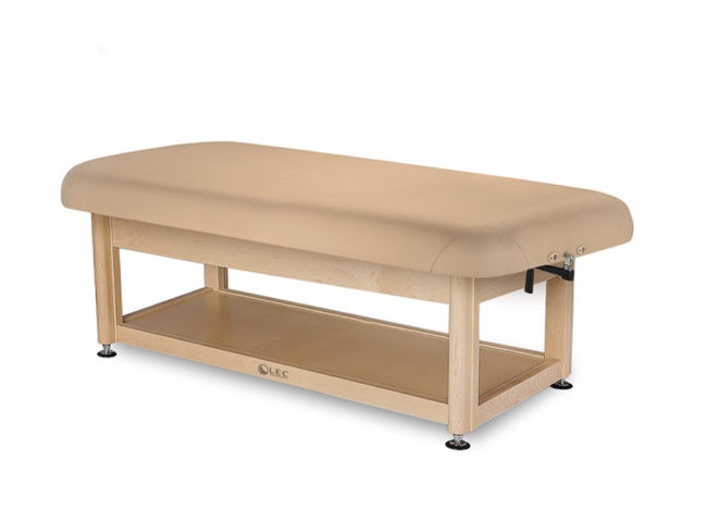 Living-Earth-Crafts-Napa-Flat-Top-Spa-Treatment-Table-Shelf-Base