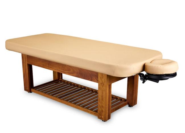 Living-Earth-Crafts-Napa-La-Mer-Spa-and-Salon-Table-with-Teak-Base