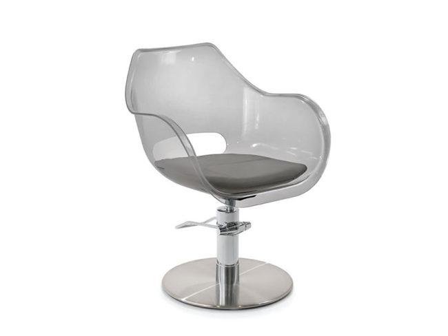 Maletti-PLEXI-FUMÈ-Hairdresser-Styling-Chair